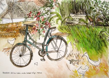 The Bali Bicycle