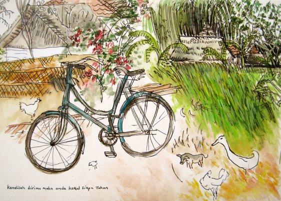 The Bali Bicycle