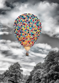 Smarties Balloon